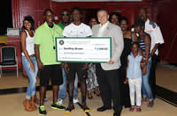 PBCSF Funds Basketball Trip For Local Teen And Coach