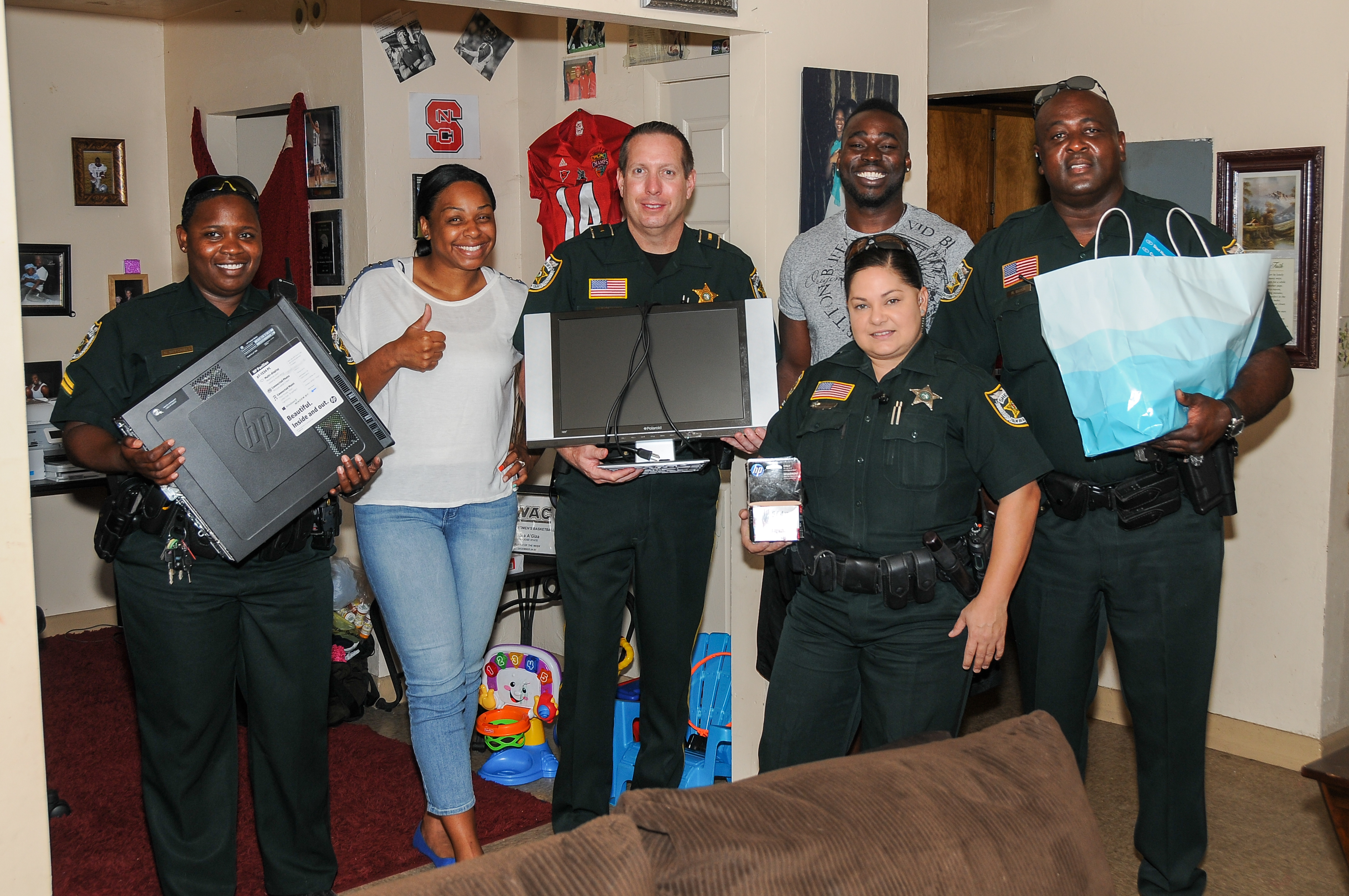 Belle Glade and Pahokee Computer Donations